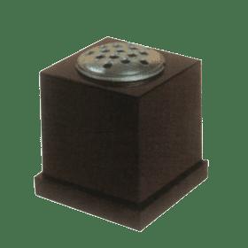 Square Granite Vase
