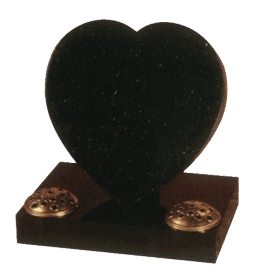 Heart Cremation Headstone Memorial