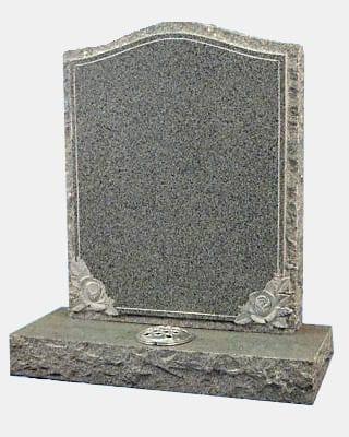 Carved Rustic Granite Memorial