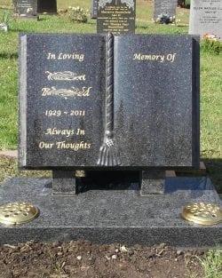 Special Granite Lawn Headstones